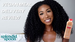 Trying a PlantBased Meal Delivery   Splendid Spoon Review