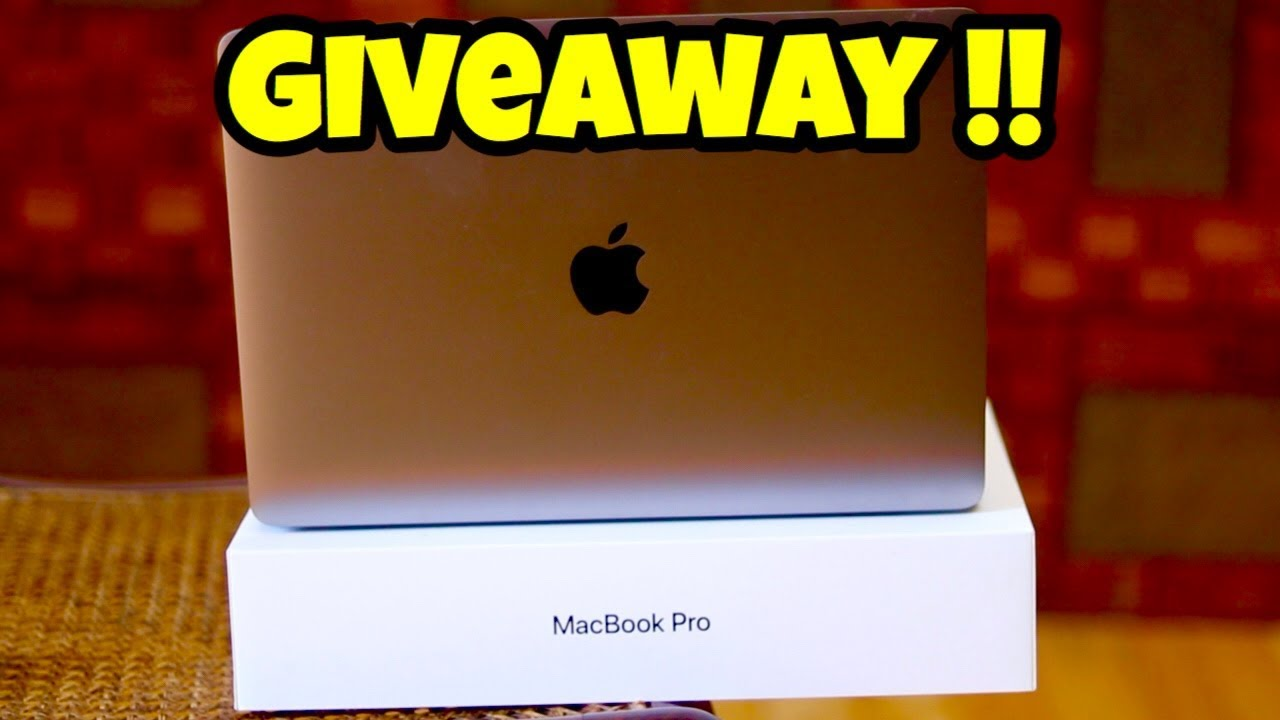 Macbook Pro Giveaway !! + Review