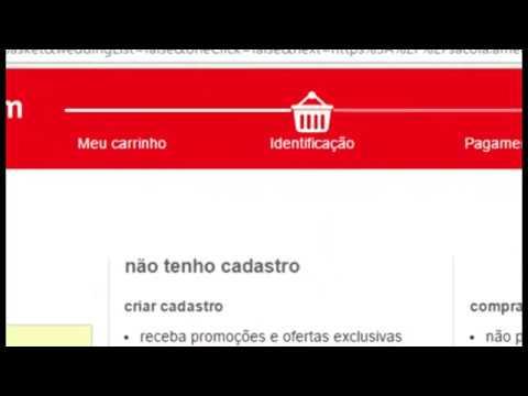 tutorial como fazer compra no site da americanas com cartão de credito