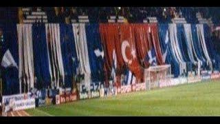 Yabancı  Stadyumlarda TÜRK Bayrağı  Açan Taraftarlar
