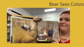 """Tuesday Tales at Home - 10/13/20 - """"Bear Sees Colors"""""""