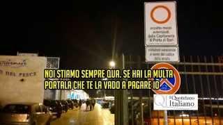 Bari, parcheggiatori abusivi molo sant'antonio
