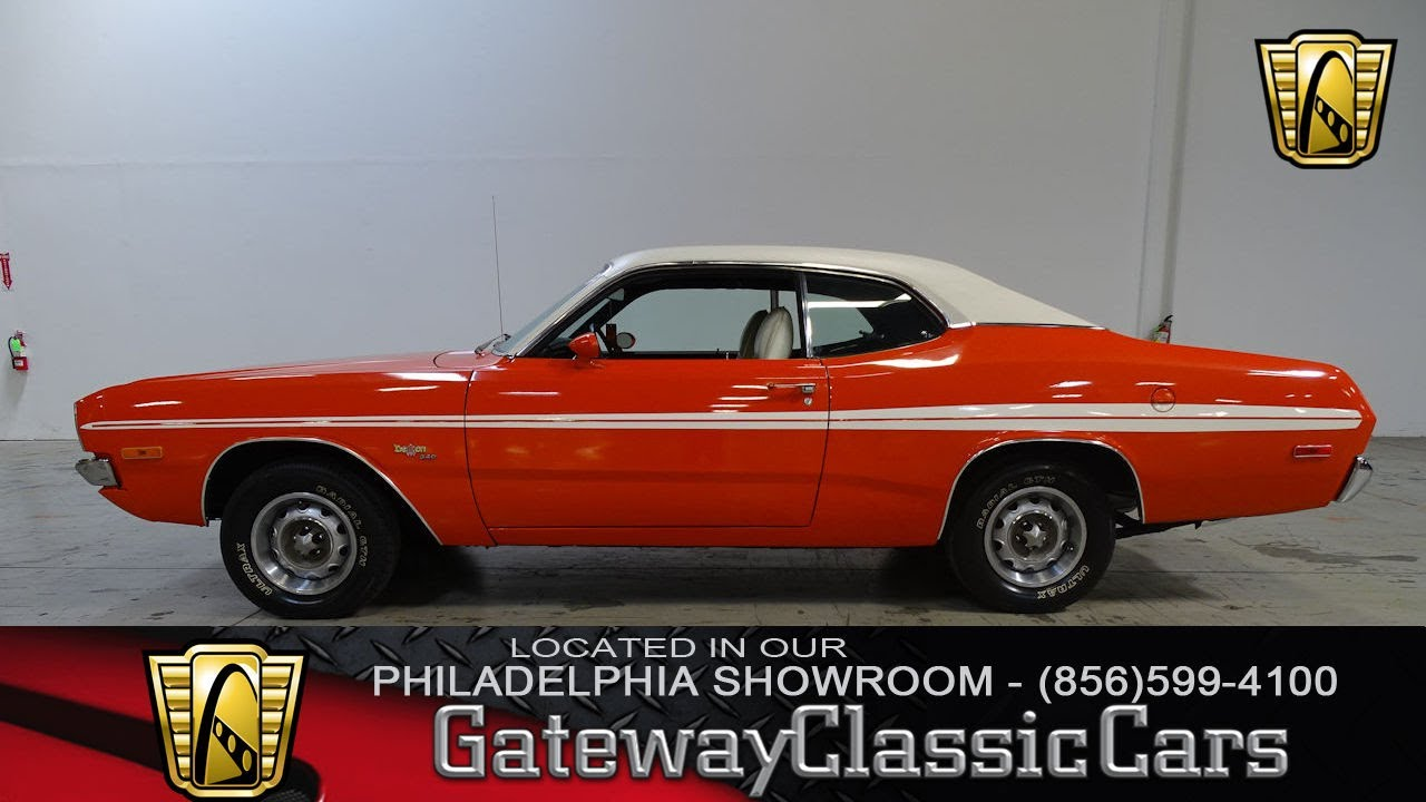 1972 dodge demon gateway classic cars philadelphia 121. Black Bedroom Furniture Sets. Home Design Ideas