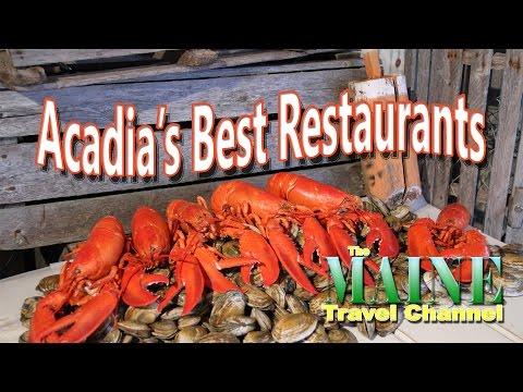 Acadia's Best Restaurants  MTC 2017