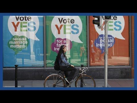 Riyadh Khalaf's alternative look at Ireland's gay marriage referendum