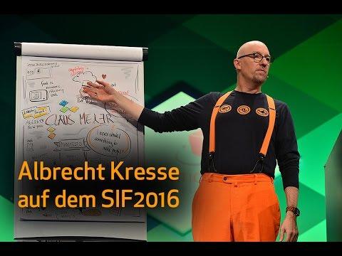 Pointierter Rückblick des Swiss Innovation Forum 2016 von Albrecht Kresse