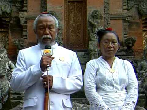 Upacara Karya Padiksan Grya Peling Padangtegal, Ubud   Gianyar