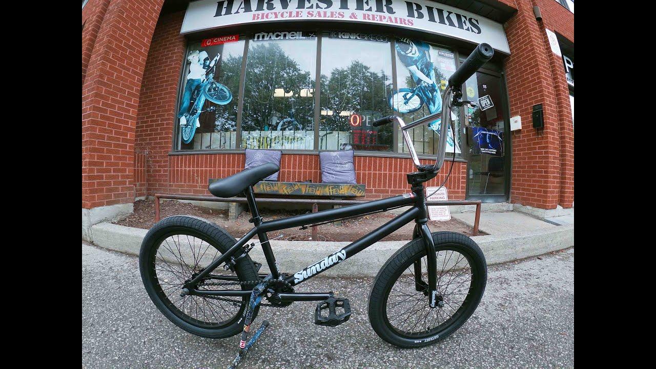 "Surf Blue Sunday 2020 Blueprint 16/"" Complete BMX Bike"