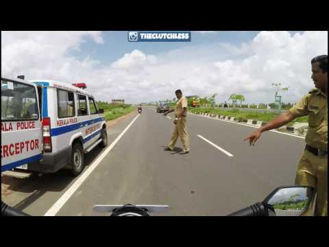KTM Duke 390 Rider VS Indian Police |Escapes/Gets Caught|Ft. TheClutchLess