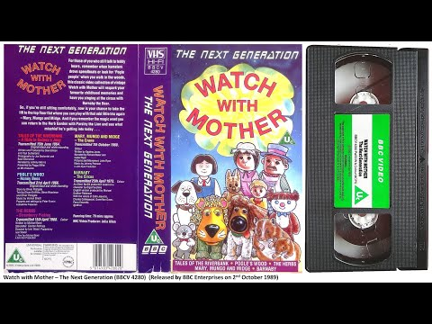 Watch with Mother - The Next Generation [VHS] (1989)