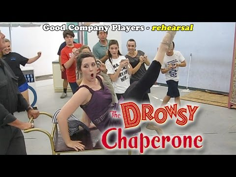GCP's The Drowsy Chaperone in rehearsal