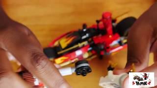 Kai's Blade Cycle and Zane's Snowmobile