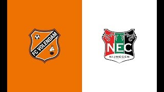 HIGHLIGHTS | FC Volendam - N.E.C.