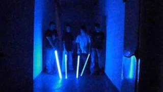 Saber Comparison Video 1 of 4 EL, MR, Luxeon, and Hyperblade