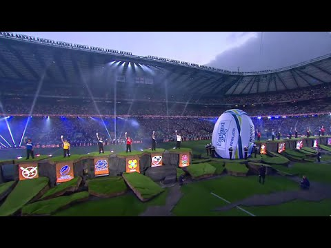 Rugby World Cup legends kick Rugby World Cup off!