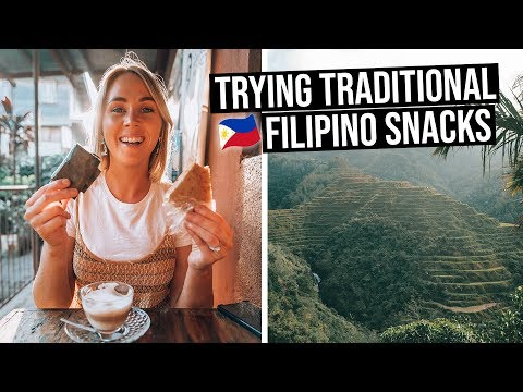 We Tried Traditional Filipino Snacks in Sagada, Philippines