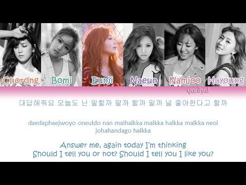 Apink (에이핑크) - Petal (꽃잎점)  (Color Coded Han|Rom|Eng Lyrics)