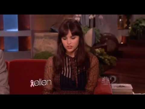 Anton Yelchin and Felicity Jones on Ellen (10/26/2011)