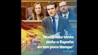 Nadie hizo tanto daño a España en tan poco tiempo.