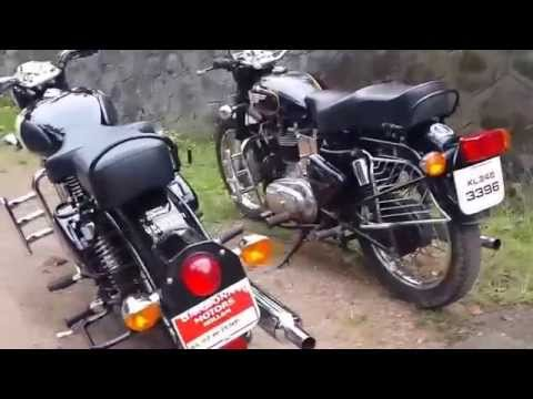 Royal Enfield Bullet 350 Look VS Royal Enfield Classic 350 Look