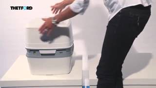 Обзор Биотуалет жидкостный THETFORD Porta Potti Qube 365