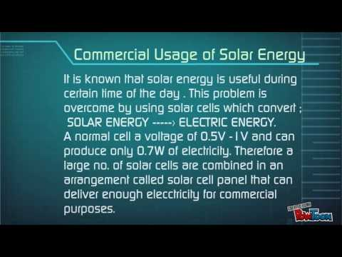Solar Energy and Tidal Energy