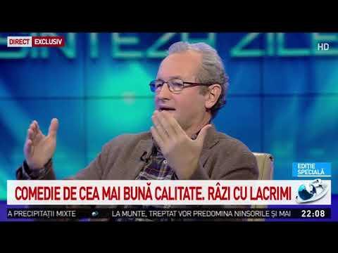 """Dan Puric, despre monștrii sacri ai comediei românești: """"A fost o specie. A dispărut"""""""