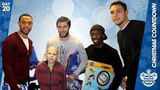 Qpr Players Spread Festive Cheer