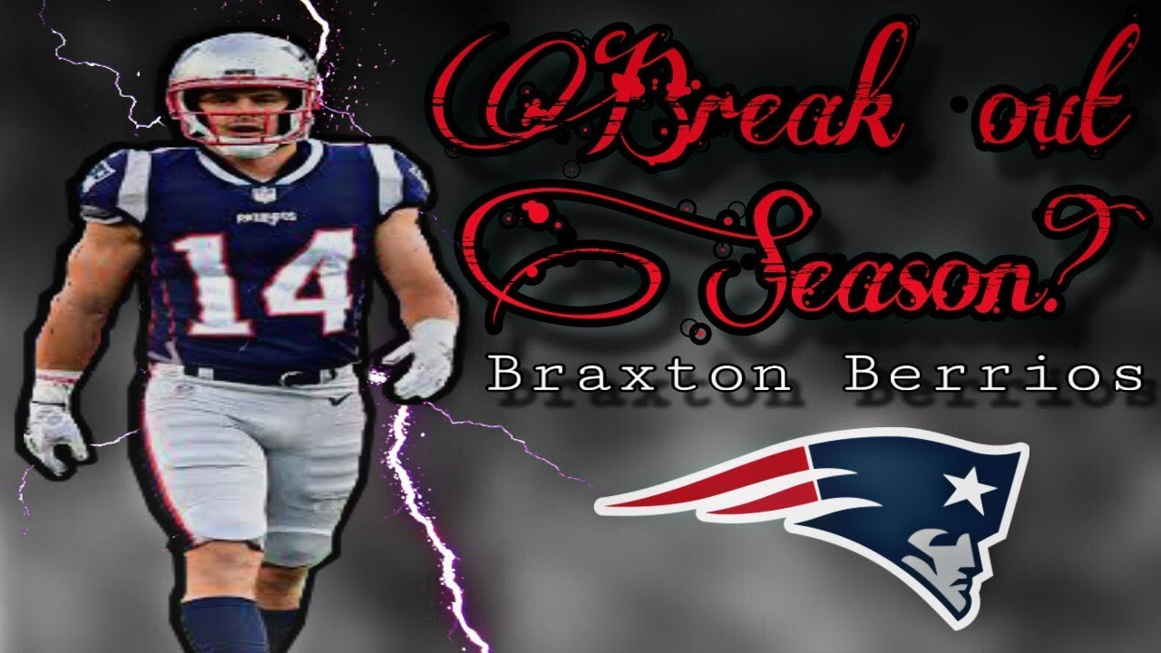 timeless design 7fe3a 45c39 Braxton Berrios could have a big role with the Patriots in 2019
