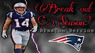Braxton Berrios could have a big role with the Patriots in 2019
