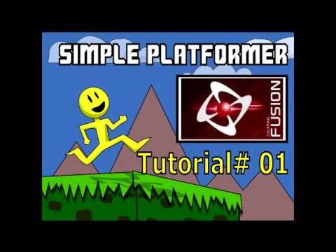 Simple Platformer Tutorial #1: For Clickteam Fusion 2.5
