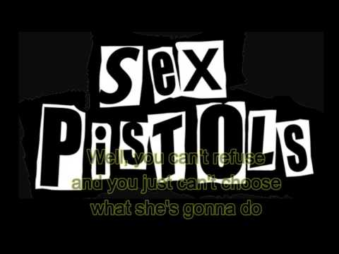 Sex Pistols - Black Leather (lyrics)