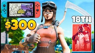 I WON $300 in the Solo Cash Cup on Nintendo Switch (highlights)