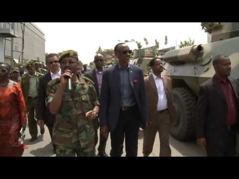 Kagame shopping for weapons in Ethiopia getting ready for 2017