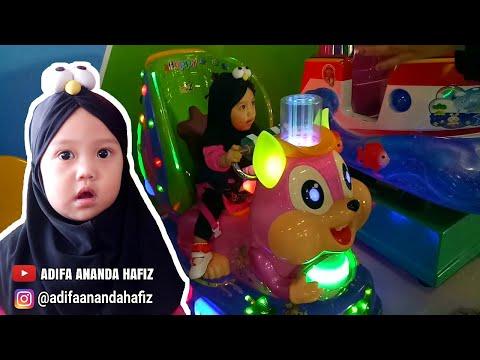 Adifa Naik Odong Odong Lucu Di Playground