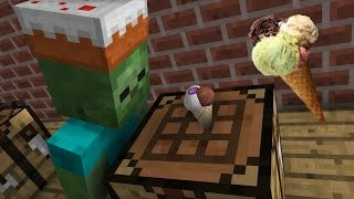 Monster School: Ice Cream - Minecraft Animation