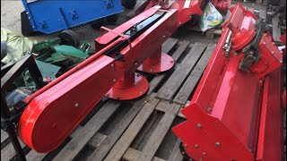 як зробити роторну косарку для міні-тракторів