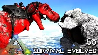 ARK: SURVIVAL EVOLVED - ALPHA TREX TAME & TEK RAGE !!! E60 (MODDED ARK ANNUNAKI EXTINCTION CORE)
