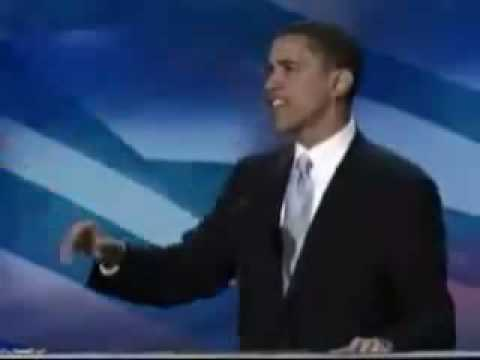 Obama DNC speech (We are the UNITED states of America)