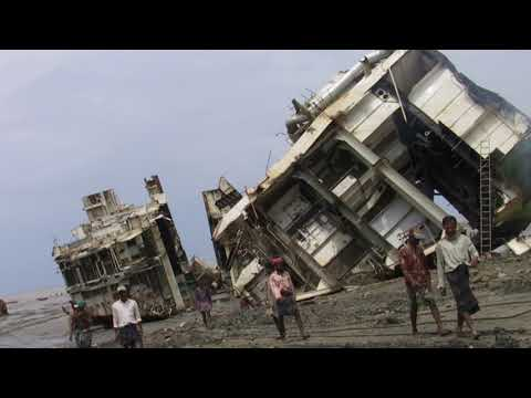 Ship breaking in Bangladesh