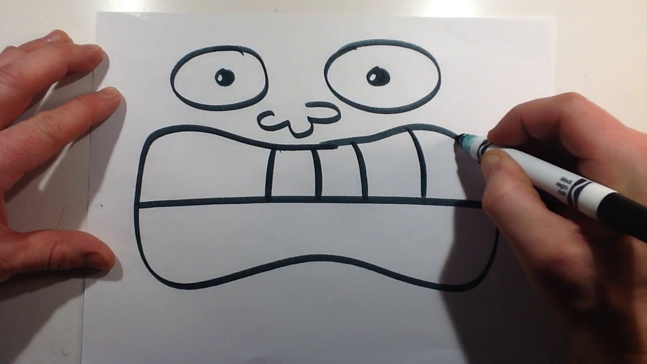How To Draw A Easy Funny Face 27 Easy Drawing Idea For Kids