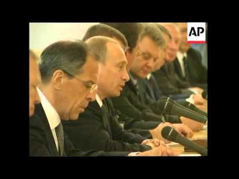 Russian Presidents Meet Presidents 110