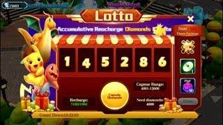 Pokeland Legends Lotto + 4x 10x Draws + 8 Turntable Spins