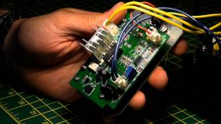 Digital soldering station repair (noisy transformer)
