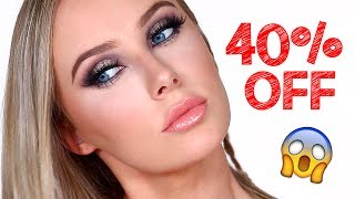 ONE BRAND TUTORIAL + 40% OFF DISCOUNT CODE!! | Lauren Curtis