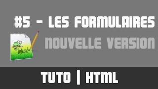 TUTO HTML - #5 Les formulaires - Nouvelle version