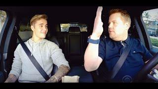 Джастин Бибер поет караоке в такси Джеймса Кордена на русском(К сожалению, песни пришлось вырезать из-за нарушения авторских прав. Их вы можете прослушать в оригинальном..., 2016-09-27T18:46:30.000Z)