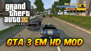 GTA III Reconstruído na Engine RAGE do GTA IV! Mod Épico!