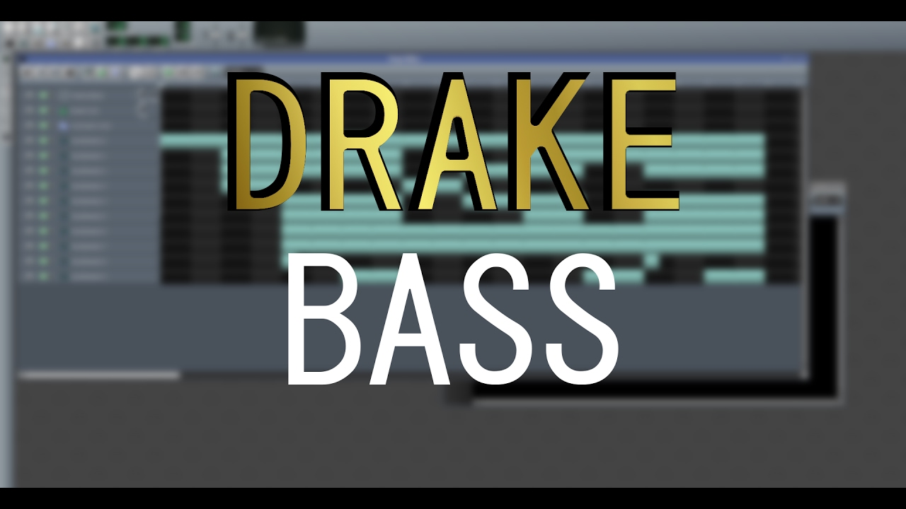 How to make the famous DRAKE BASS in LMMS