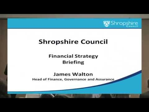 Shropshire Council Big Conversation James Walton - April 2016